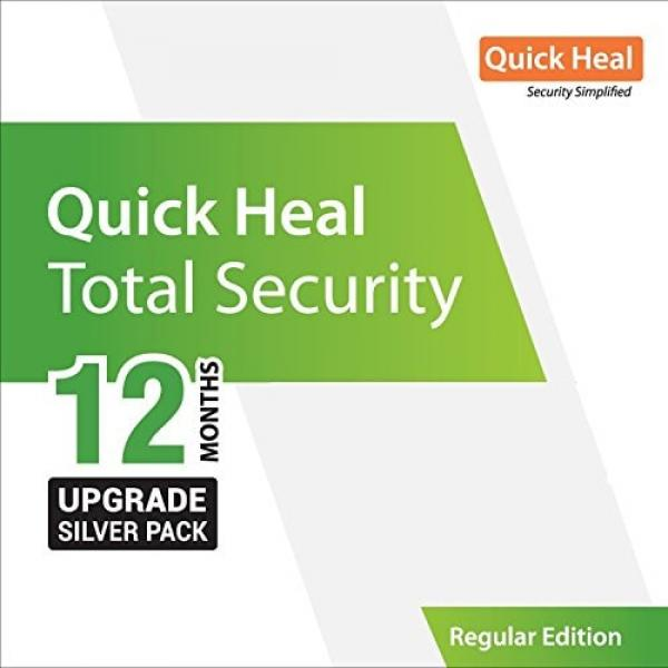 Quick Heal Antivirus Renewal Total Security 1pc 1 Year