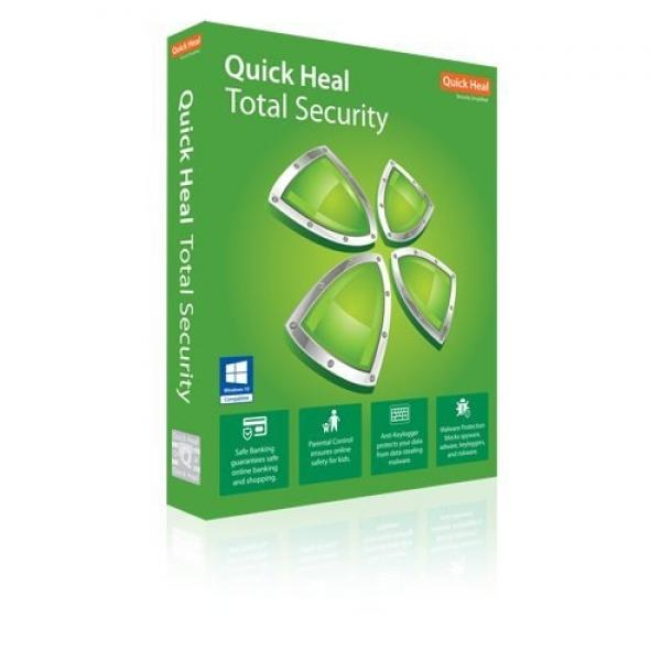 Quick Heal Antivirus Total Security 5Pc 1Year