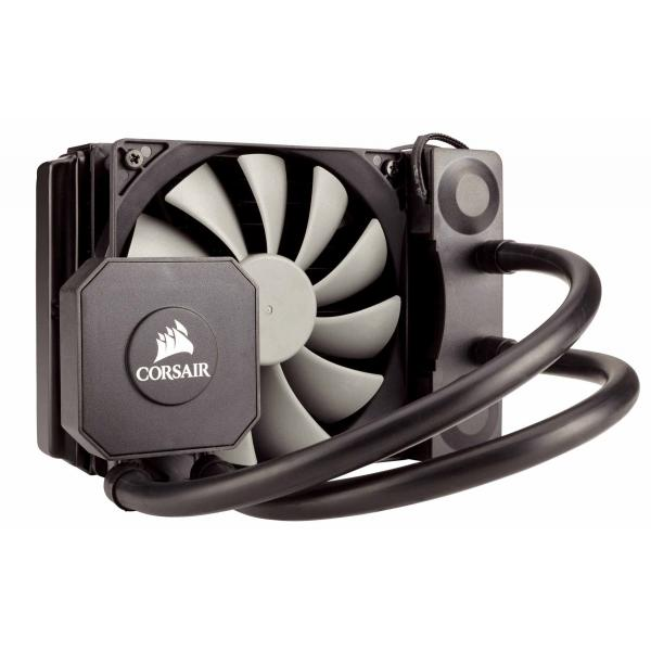 Corsair Hydro Series, H45, 120mm Radiator, Single 120mm PWM fan, Liquid CPU Cooler