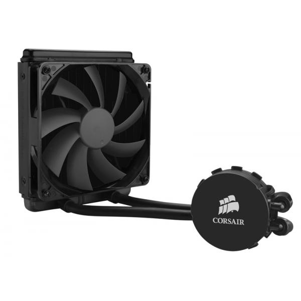 Corsair Hydro Series, H90, 140mm Radiator, Single 140mm PWM fan, Liquid CPU Cooler