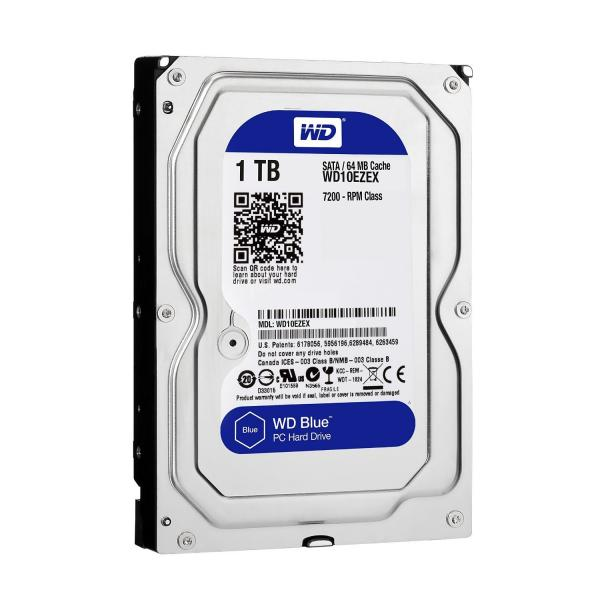 WESTERN DIGITAL DESKTOP HARD DRIVE 1TB BLUE (WD10EZEX)