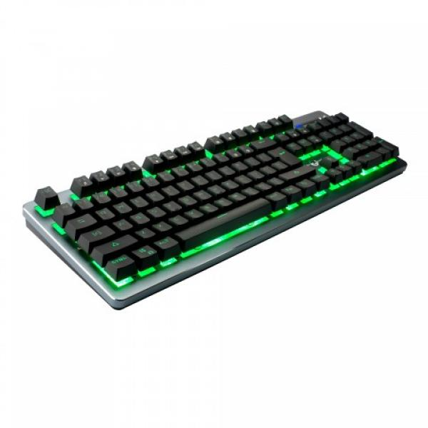 Circle Metalloit-X Semi Mechanical Gaming Keyboard With LED Backlight