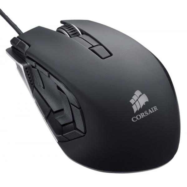 CORSAIR VENGEANCE M95 GUNMETAL BLACK WIRED GAMING MOUSE CH-9000025-EU - (8200 DPI, LASER SENSOR, 1000 HZ POLLING RATE)