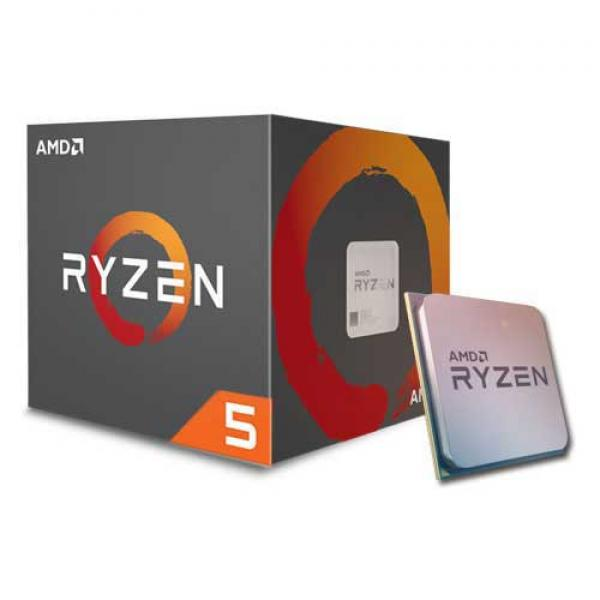 AMD RYZEN 5 1600 Desktop Processor With Wraith Spire Cooling Solution - (6 Core, Up To 3.6 GHz, AM4 Socket, 19MB Cache)