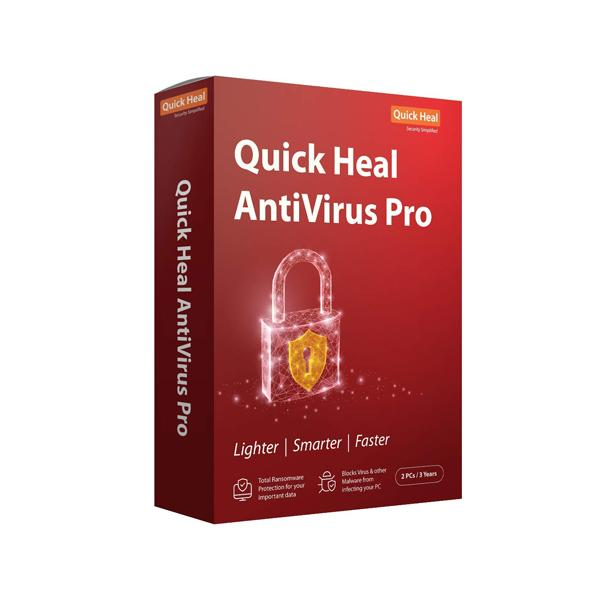 Quick Heal Pro 2 User 3 Year