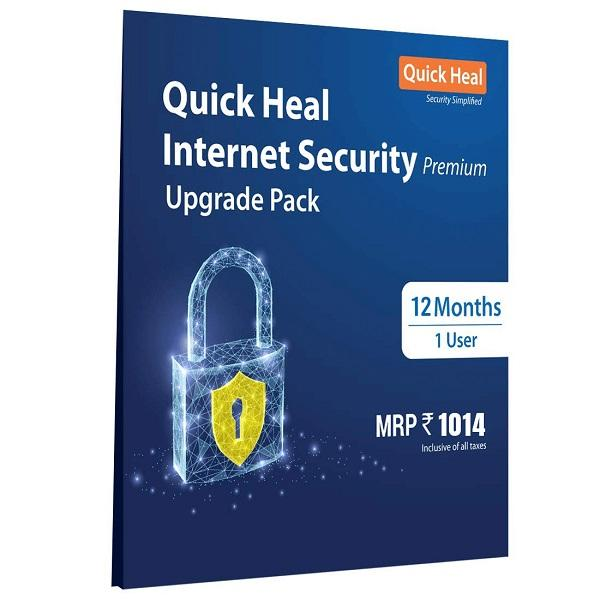 Quick Heal Internet Security 1 User 1 Year Renewal