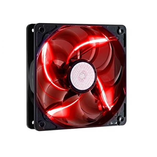 Cooler Master SICKLE FLOW X 120 mm Fan With Red LED