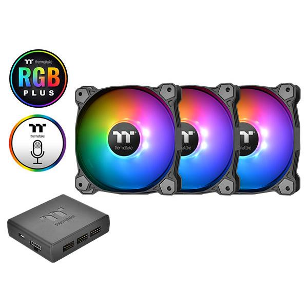 Thermaltake PURE PLUS 12 RGB 3 Fans Pack With Controller