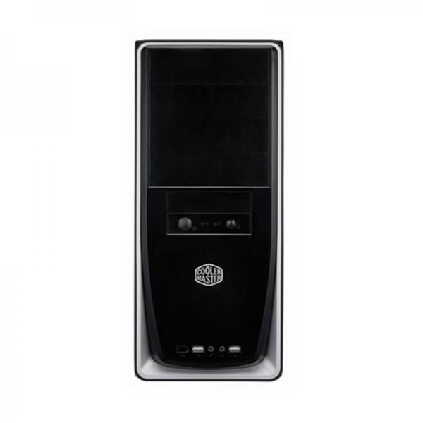 COOLER MASTER ELITE 311 (ATX) Mid Tower Cabinet - With Usb 3.0 (Silver-Trim)