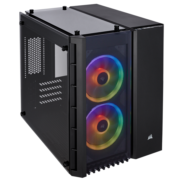 Corsair 280X RGB Tempered Glass (Black)