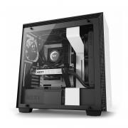 Nzxt H700 E Atx Mid Tower Cabinet With Tempered Gl Side Panel Matte White Black