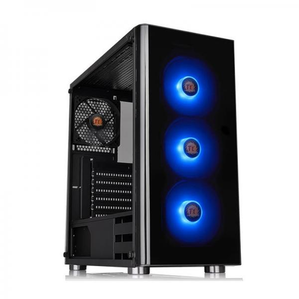 Thermaltake V200 RGB Tempered Glass (Black)