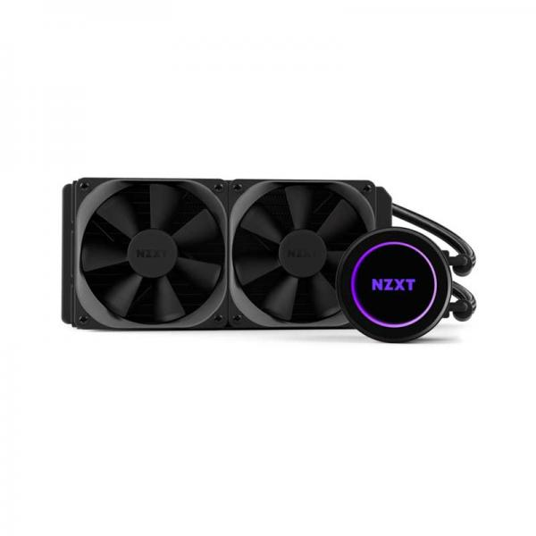 Nzxt Kraken X52 RGB All In One 240mm Cpu Liquid Cooler And CAM Compatible (RL-KRX52-02)