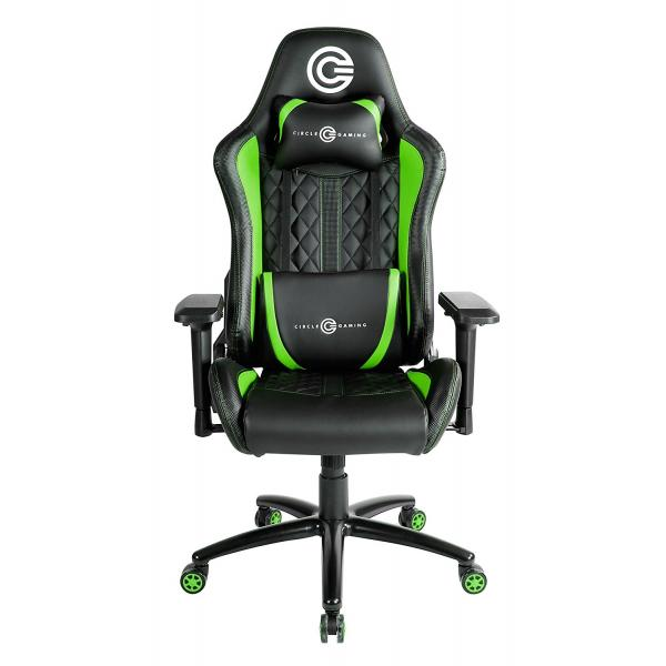 CIRCLE CG CH80 Gaming Chair (Black-Green)
