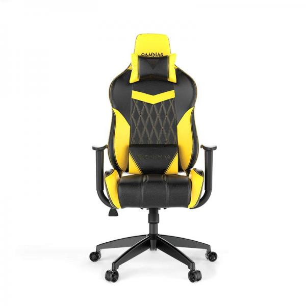 Gamdias ACHILLES E2 L - Black/Yellow