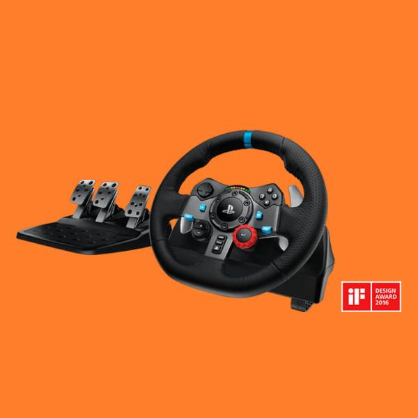 LOGITECH G29 DRIVING FORCE Racing Wheel For PC And Playstation