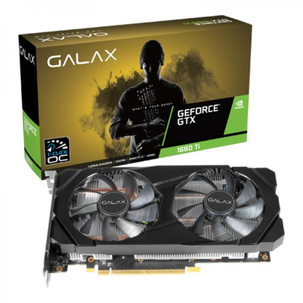 Buy Galax GeForce GTX 1660 TI (1 Click OC) 6GB GDDR6 at Lowest Price In  India - mdcomputers.in
