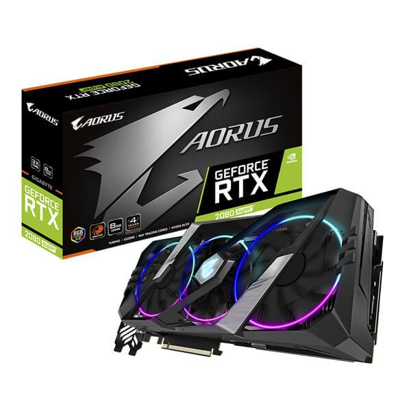 GIGABYTE Aorus GeForce RTX 2080 Super 8GB GDDR6 256-bit Gaming Graphics Card