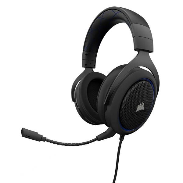 CORSAIR HS50 STEREO Gaming Headset Blue (CA-9011172-AP)
