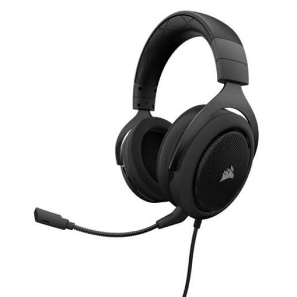 CORSAIR HS50 STEREO Carbon Gaming Headset (CA-9011170-AP)