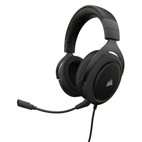 CORSAIR HS50 STEREO Gaming Headset Green (CA-9011171-AP)