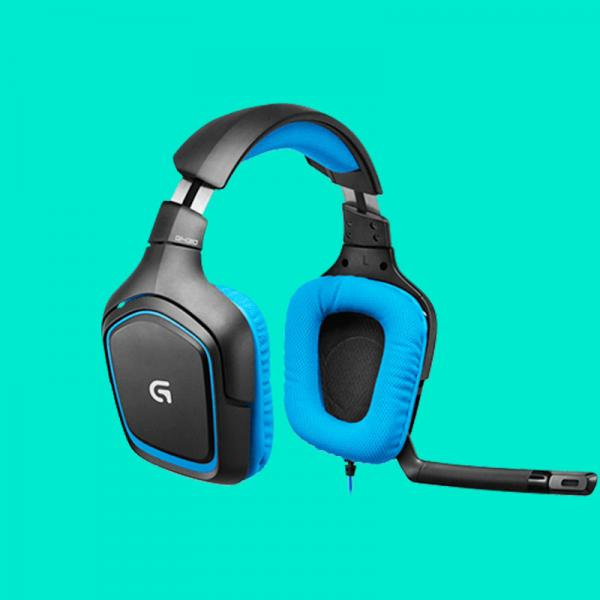 9b155855539 Buy Logitech G430 SURROUND SOUND at Lowest Price in India -  www.mdcomputers.in
