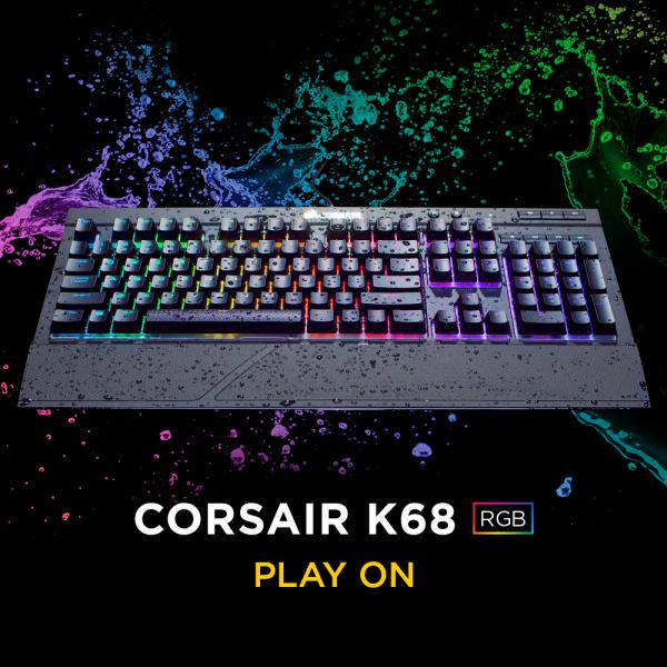 Corsair K68 RGB Cherry MX Red Switches