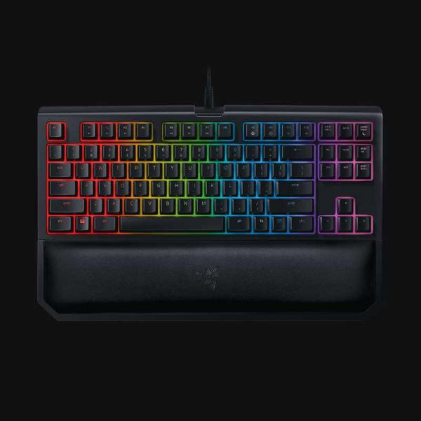RAZER BLACKWIDOW TOURNAMENT EDITION CHROMA V2 Mechanical Gaming Keyboard Orange Switch With RGB Backlight (RZ03-02190700-R3M1)