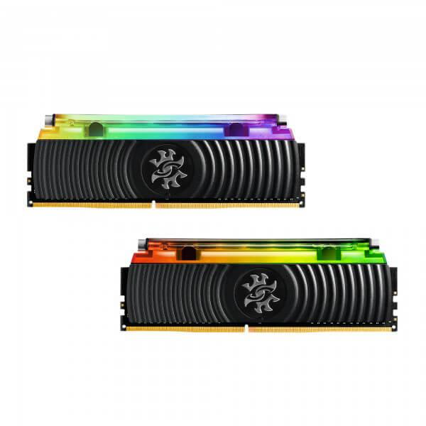 Adata XPG Spectrix D80 16GB (8GBX2) DDR4 3000MHz RGB Hybrid Liquid Air Cooling