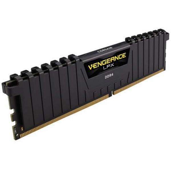 Corsair Vengeance LPX 8GB (8GBx1) DDR4 3600MHz Black