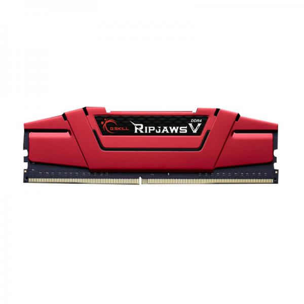 G.Skill F4-2400C17S-4GVR Desktop Ram Ripjaws V Series 4GB (4GBx1) DDR4 2400MHz Red