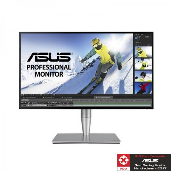 ASUS PA27AC - ProArt Series 27 Inch HDR Professional Monitor (Borderless,100% sRGB, WQHD, HDR-10, Color Accuracy, Thunderbolt 3, Hardware Calibration)