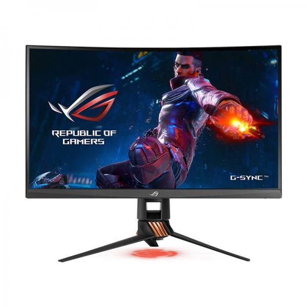Asus Rog Swift PG27UQ 27 Inch Gaming Monitor (G-SYNC,4ms Response Time,  144Hz Refresh Rate, 4K UHD IPS Panel, USB3 0, HDMI, DisplayPort)