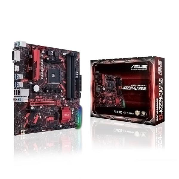 Image result for Asus EX-A320M-GAMING Motherboard