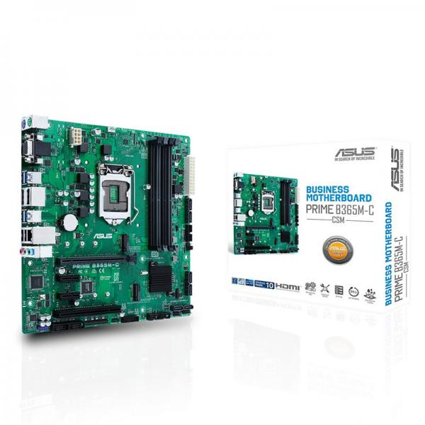 ASUS PRIME B365M-C/CSM Motherboard (Intel Socket 1151/8th Generation Core Series CPU/Max 64GB DDR4-2666MHz Memory)