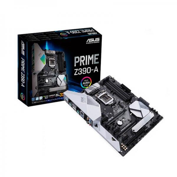 ASUS PRIME Z390-A Motherboard (Intel Socket 1151/9th And 8th Generation Core Series CPU/Max 128GB DDR4-4266MHz Memory)
