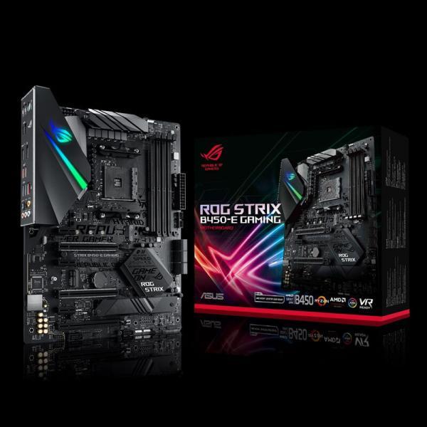Asus ROG Strix B450-E Gaming (Wi-Fi) Motherboard (Amd Socket AM4/Ryzen  Series CPU/Max 64GB DDR4-3533MHz Memory)