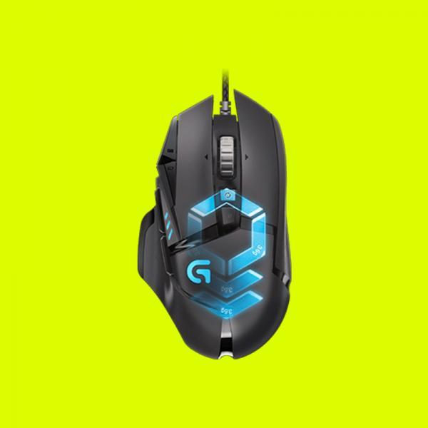 LOGITECH G502 PROTEUS SPECTRUM RGB Wired Gaming Mouse - (12000DPI, Optical  Sensor, RGB Lighting, 1000Hz Polling Rate)