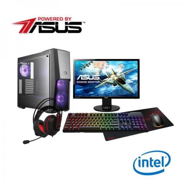 Powered By ASUS Custom Gaming Desktop Intel Based Pro Gaming (Intel i5 8400  CPU RTX 2070 DUAL ADVANCED 8GB GPU)