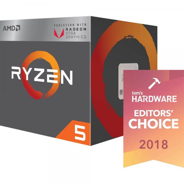 AMD RYZEN 5 2400G APU Series Desktop Processor - (Radeon Vega 11 Graphics, 4 Core, Up To 3.9 GHz, AM4 Socket, 6MB Cache)
