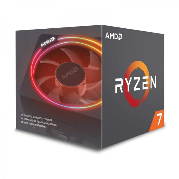 AMD RYZEN 7 2700X 2nd Generation Desktop Processor - With Wraith Prism Cooling Solution RGB LED (8 Core, Up To 4.3 GHz, AM4 Socket, 20MB Cache)