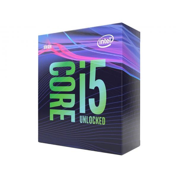 Intel® Core™ i5-9600K Desktop Processor 6 Core up to 4.6GHz Turbo Unlocked LGA1151 300 Series 95W BX80684i59600K