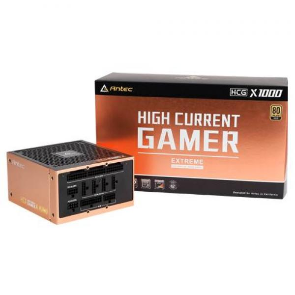 Antec HCG 1000 Extreme Smps 1000 Watt 80 Plus Gold Certification Fully  Modular Psu With Active Pfc