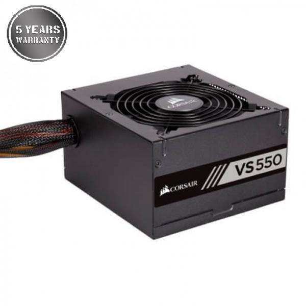 CORSAIR VS550 SMPS - 550 Watt PSU With Acive PFC