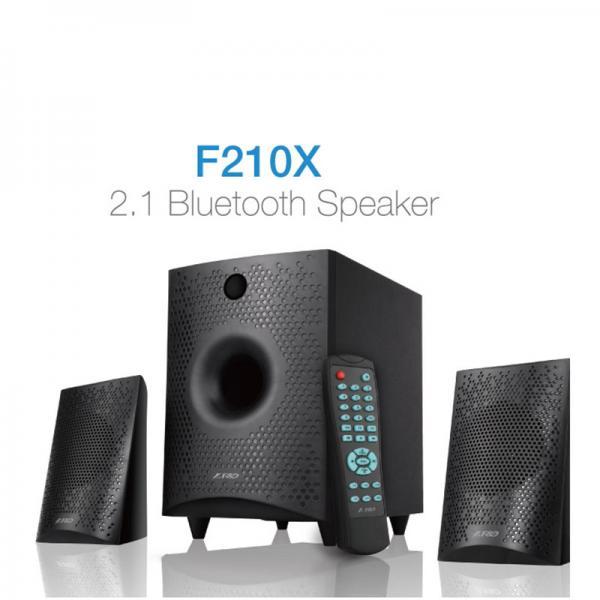 F&D F210X 2 1 Channel Multimedia Speaker With USB/Digital FM