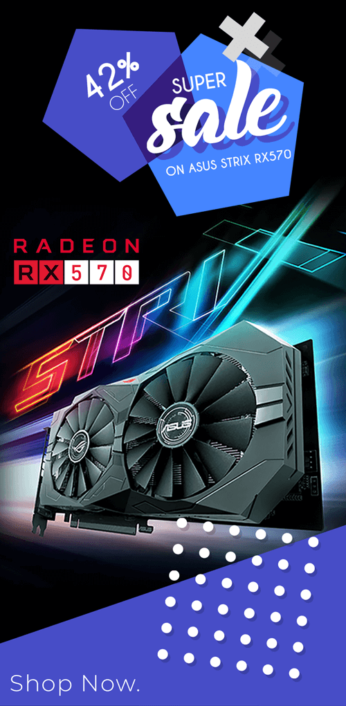 Buy ASUS ROG Strix RX 570 at Lowest Price In INDIA