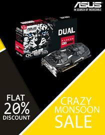 Buy ASUS Radeon RX 580 8GB DUAL OC at Lowest Price In India