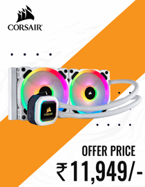 Buy Corsair H100i RGB Platinum SE at Lowest Price in India
