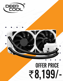 Buy Deepcool Captain 240 EX White RGB at Lowest Price in India