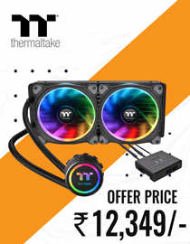 Buy Thermaltake Floe Riing RGB 280 at Lowest Price In India